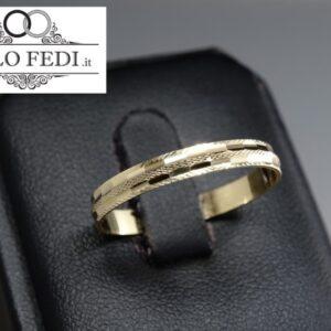 Fedina Unoaerre Camelia oro giallo - AF236 - Solo Fedi Torino
