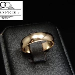 Fede MANTOVANA oro giallo Unoaerre - Solo Fedi Torino