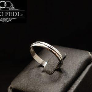 Fedina Diamantata Argento Lucido Satinato Unoaerre a Torino