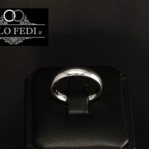 FEDE COMODA 4.0 mm in ORO Bianco