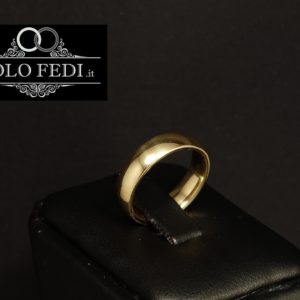 FEDE COMODA 5.0 mm in ORO giallo