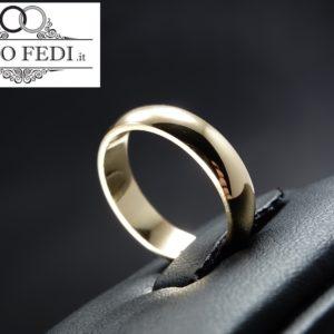 Fede Larga Unoaerre in Oro giallo - Solo Fedi Torino