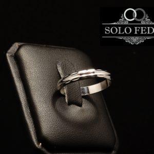 Unoaerre a Torino - Fedina ARGENTO Diamantata Moderna