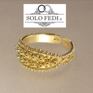 Fede SARDA classica Oro giallo a Torino