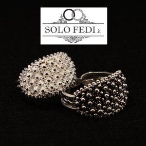 Fede Sarda classica Larga in Argento - Solo Fedi Torino